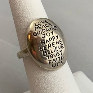 Jewelry - All Good Things Sterling Ring